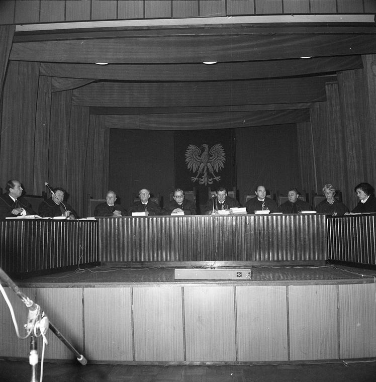 Katowice, 03.1975. Proces Zdzisława Marchwickiego - Wampira z Zagłębia.