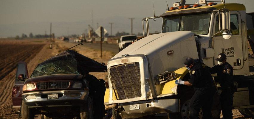 Tragiczny wypadek w Kalifornii. Nie żyje 15 osób