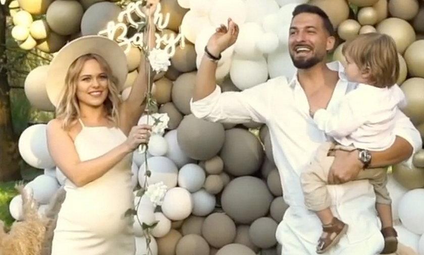 Rafał Maślak i jego żona poznali płeć swojego drugiego dziecka.