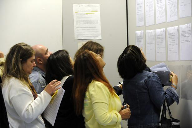 Stopa bezrobocia wzrosła w lutym 2009 r. do 10,9 proc. wobec 10,5 proc. miesiąc wcześniej. Fot. Bloomberg