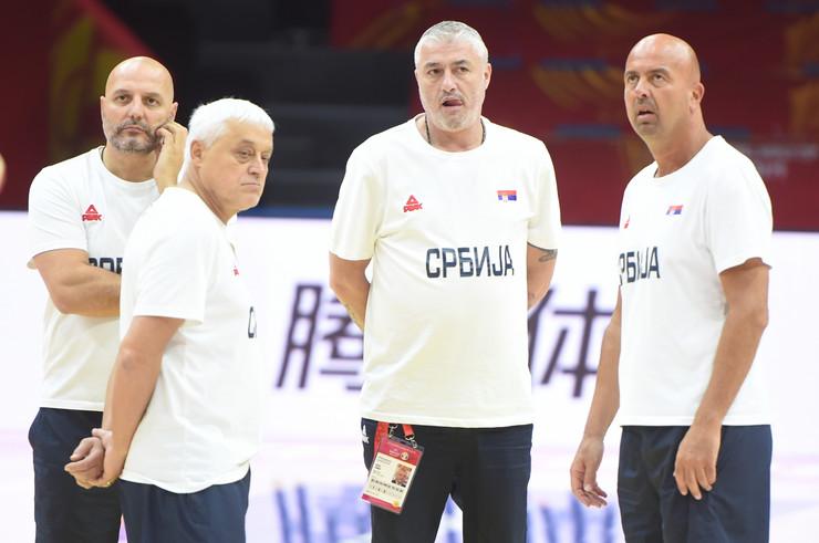 Košarkaška reprezentacija Srbije, trening, košarkaši Srbije