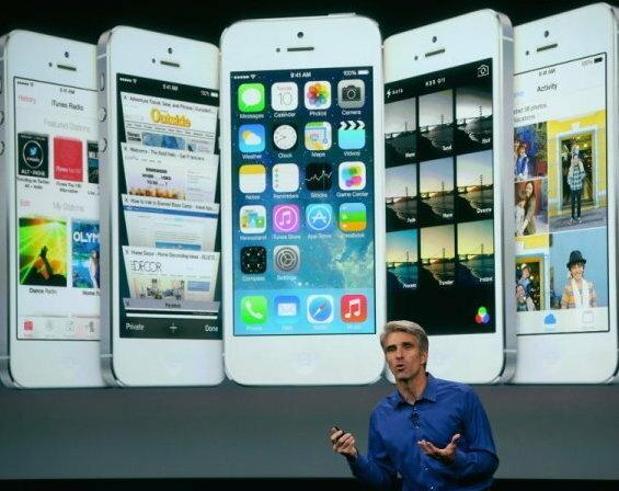 Prezentacja nowego iOS, fot. techtimes.com