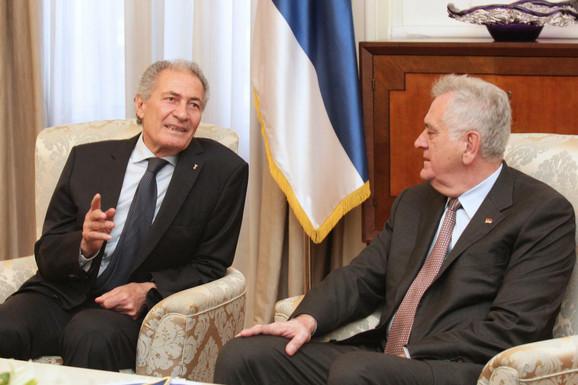 Hasan Mustafa i Tomislav Nikolić