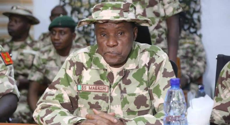 Minister of Defence, Bashir Magashi [Nigerian Army]
