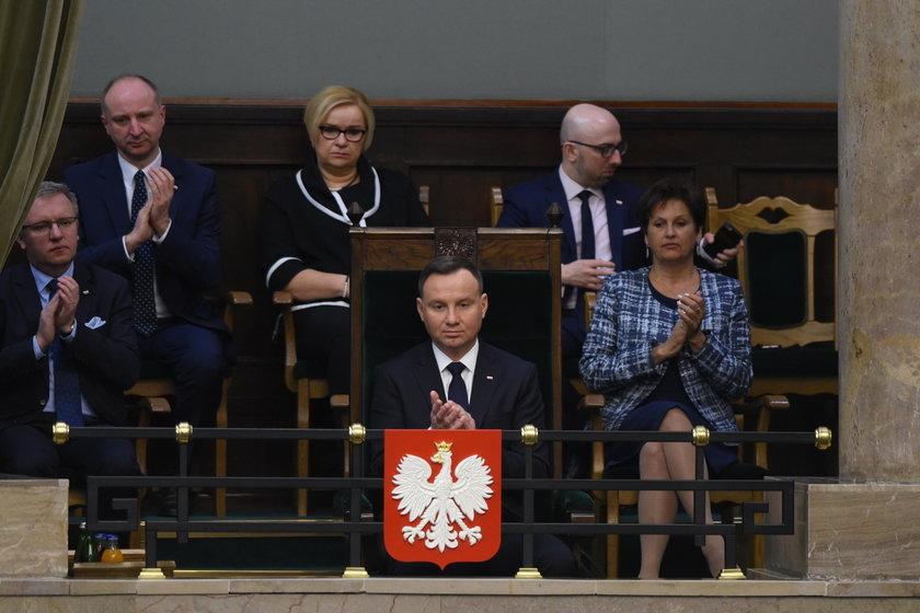 Expose szefa MSZ w Sejmie. Mówiłjak Gomułka?