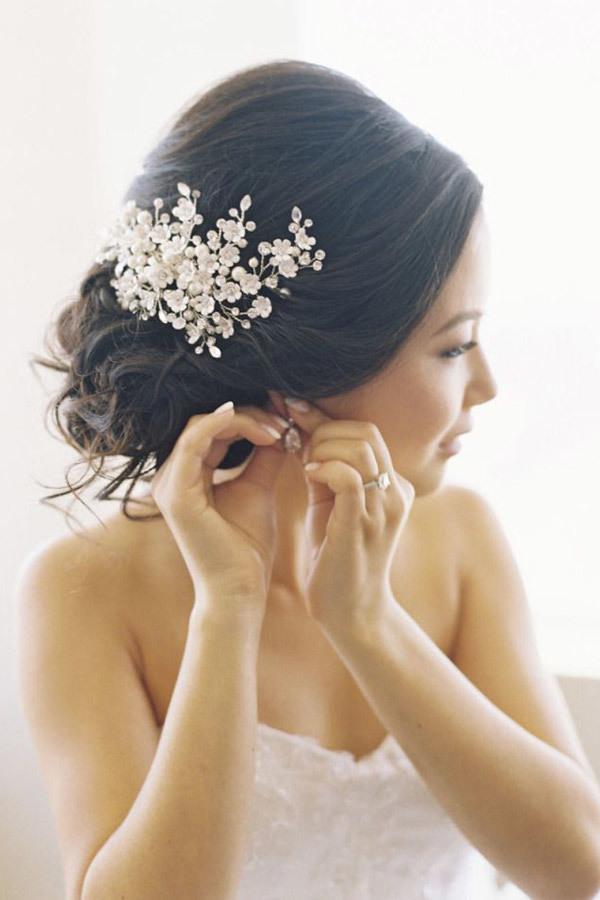 Ozdoby ślubne Do Włosów 50 Propozycji Zgodnych Z Trendami