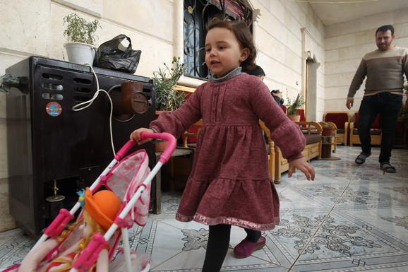 Porodica je smeštena u izbeglički kamp na jugu Turske