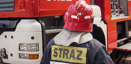 Pechowiec spalił własne auto