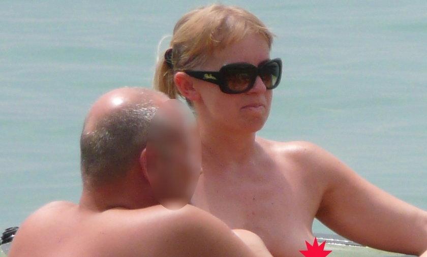 Polskie gwiazdy opalają się topless!