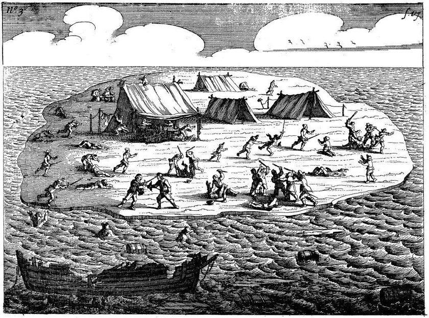 Piekło rozbitków na bezludnej wyspie. Ta historia mrozi krew w żyłach