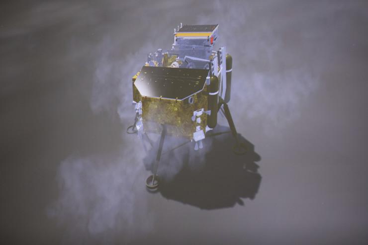 Kina, sonda, Mesec