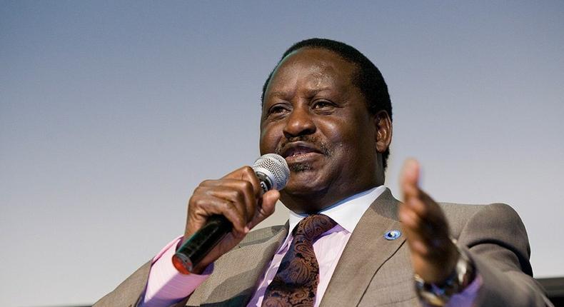ODM leader Raila Odinga during a past event
