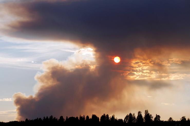 Švedska požar EPA Mats Andersson