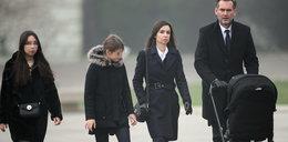 Kaczyńska z rodziną i prezydent na Wawelu FOTO
