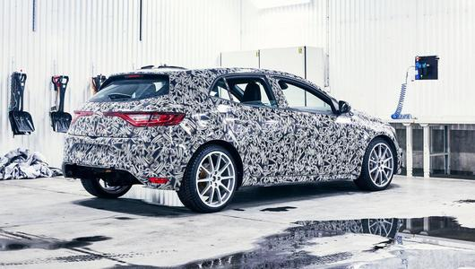 Nowe Renault Megane RS coraz bliżej