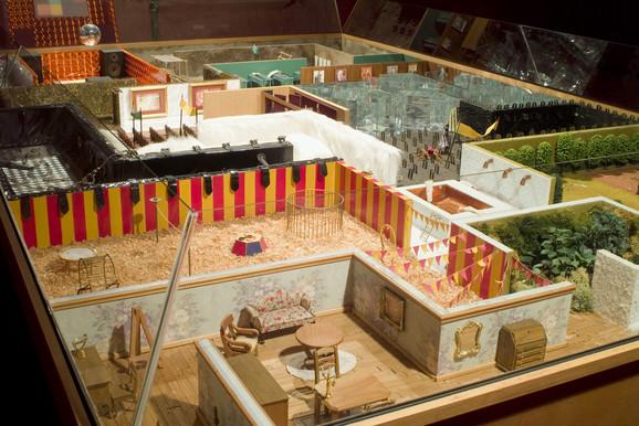 Postavka, Muzej savremene umetnosti u Gentu, detalj, ljubaznošću Angelos studija
