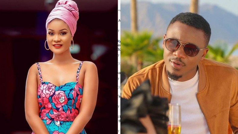 Fans react as Hamisa Mobetto teams up with Alikiba