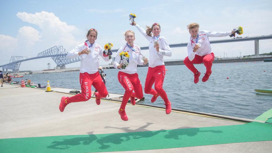 Polskie srebrne medalistki olimpijskie z Tokio