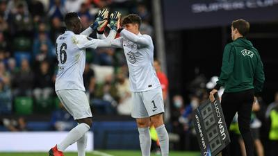 Kepa won't moan about Mendy's Chelsea return, says Tuchel