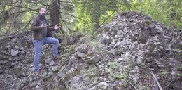 Nawet kilkadziesiąt kilogramów kosztowności! Tajemniczy schowek na Dolnym Śląsku