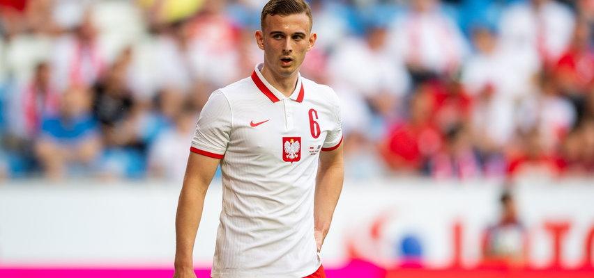 Kacper Kozłowski. Wyróżniał się od pierwszego treningu w życiu
