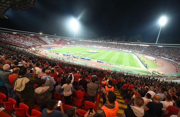 FK Crvena zvezda, Marakana, Stadion