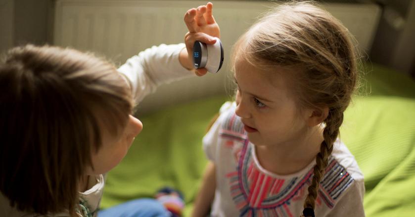 StethoMe to stetoskop, którym można zmierzyć temperaturę oraz osłuchać płuca i serce