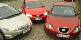 Honda Civic kontra Seat Leon i VW Golf: oto trzy sposoby na sukces