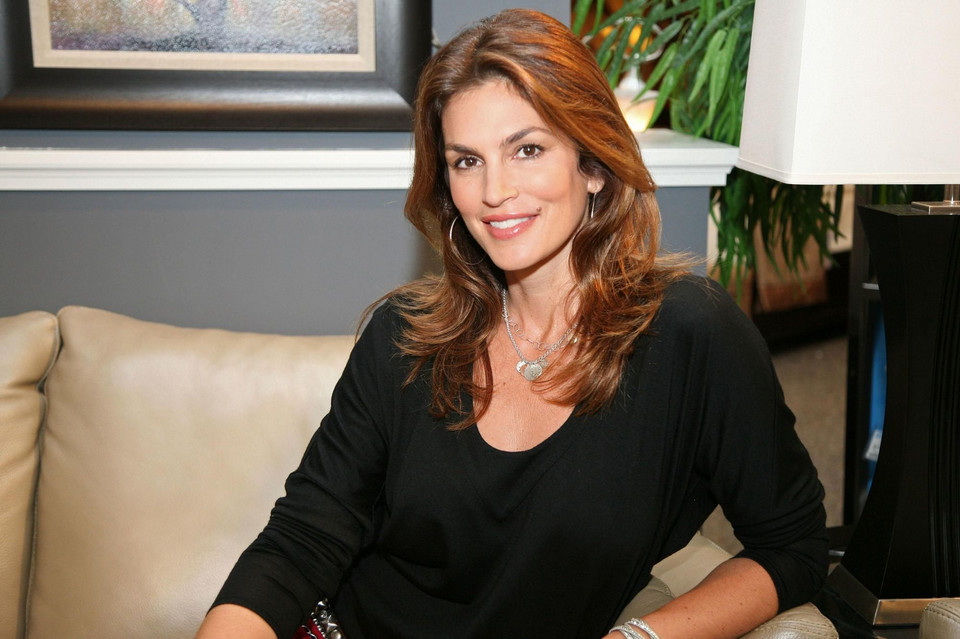 Cindy Crawford w 2008 roku