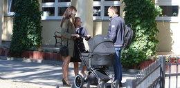Były mąż Kaczyńskiej bawi synka jej nowego męża