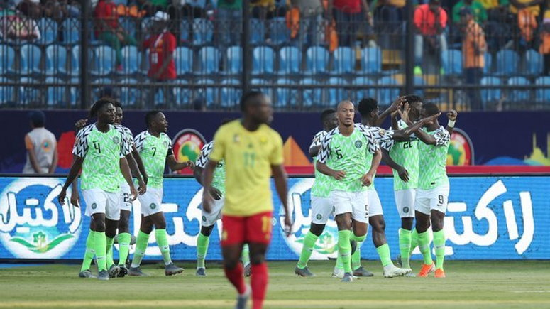 Image result for When Nigeria Beat Cameroon 3-2 At The 2019 AFCON