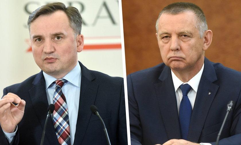 Kolejna odsłona walki Mariana Banasia ze Zbigniewem Ziobrą.