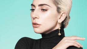 Elegancka Lady Gaga promuje markę Tiffany