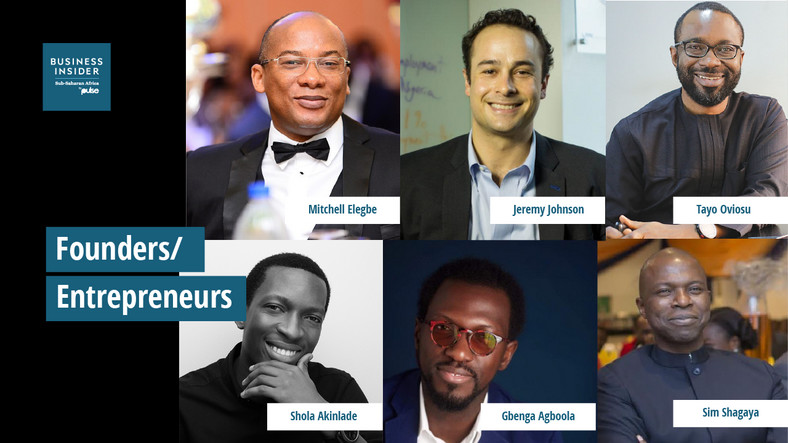 The 20 Most Important People in Nigerian Tech - Founders and Entrepreneur