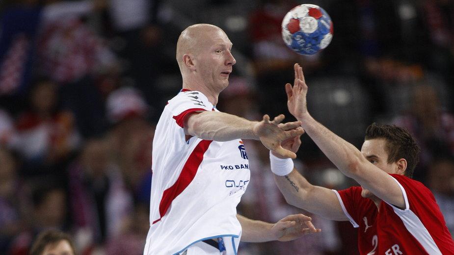 Karol Bielecki w meczu o brązowy medal mistrzostw świata 2009