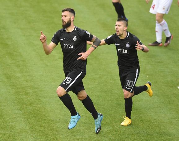 FK Voždovac, FK Partizan