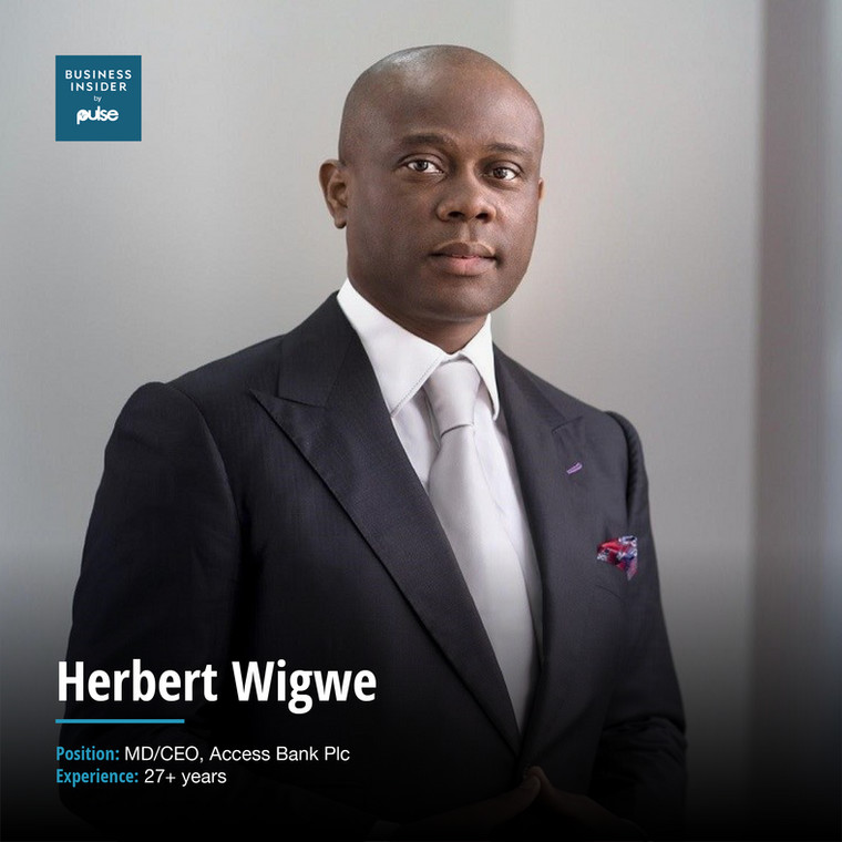 Herbert WigweMD/CEO, Access Bank Plc