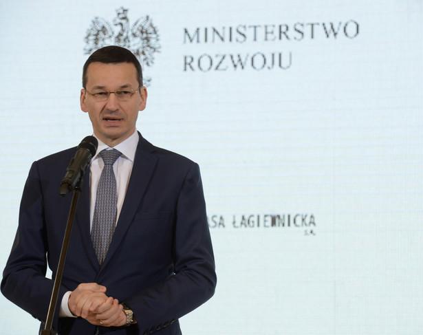 Wicepremier oraz minister rozwoju i finansów Mateusz Morawiecki, PAP/Jacek Turczyk