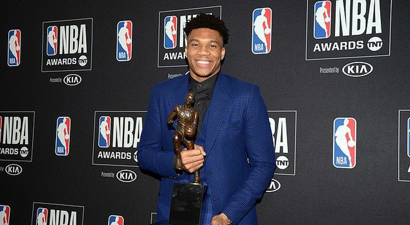 Bucks' Antetokounmpo named NBA Most Valuable Player