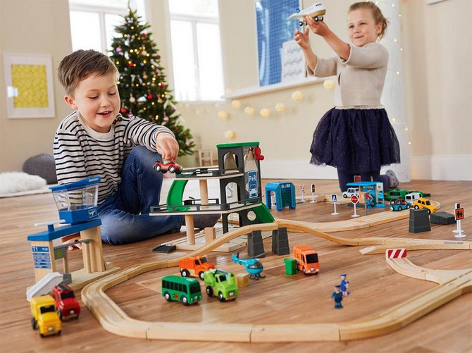 Lidl drvene igračke podstiču razvoj i osmeh