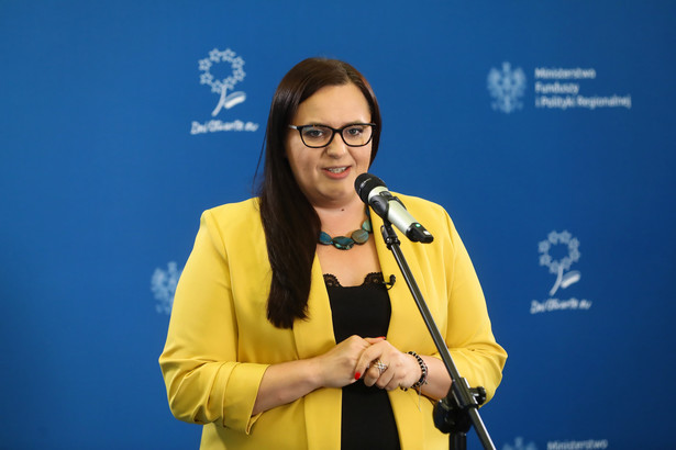 Minister funduszy i polityki regionalnej Małgorzata Jarosińska-Jedynak