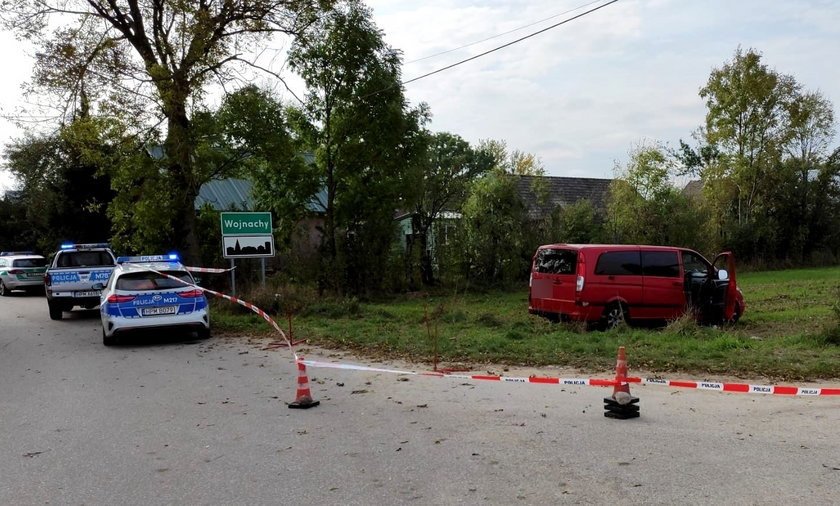 Strzały przy granicy! Bus z migrantami potrącił policjanta