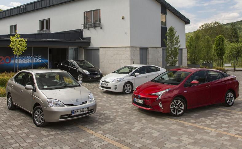 Toyota Prius - cztery generacje