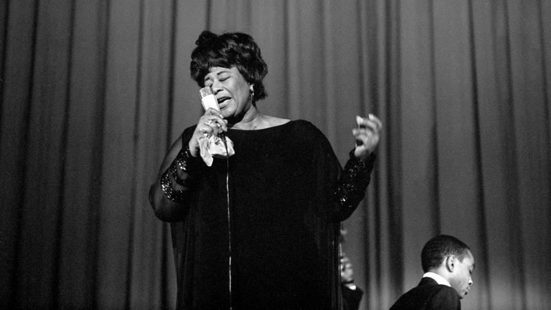 (FILE) SWITZERLAND USA MUSIC ELLA FITZGERALD (100th anniversary of Ella Fitzgerald's birth)
