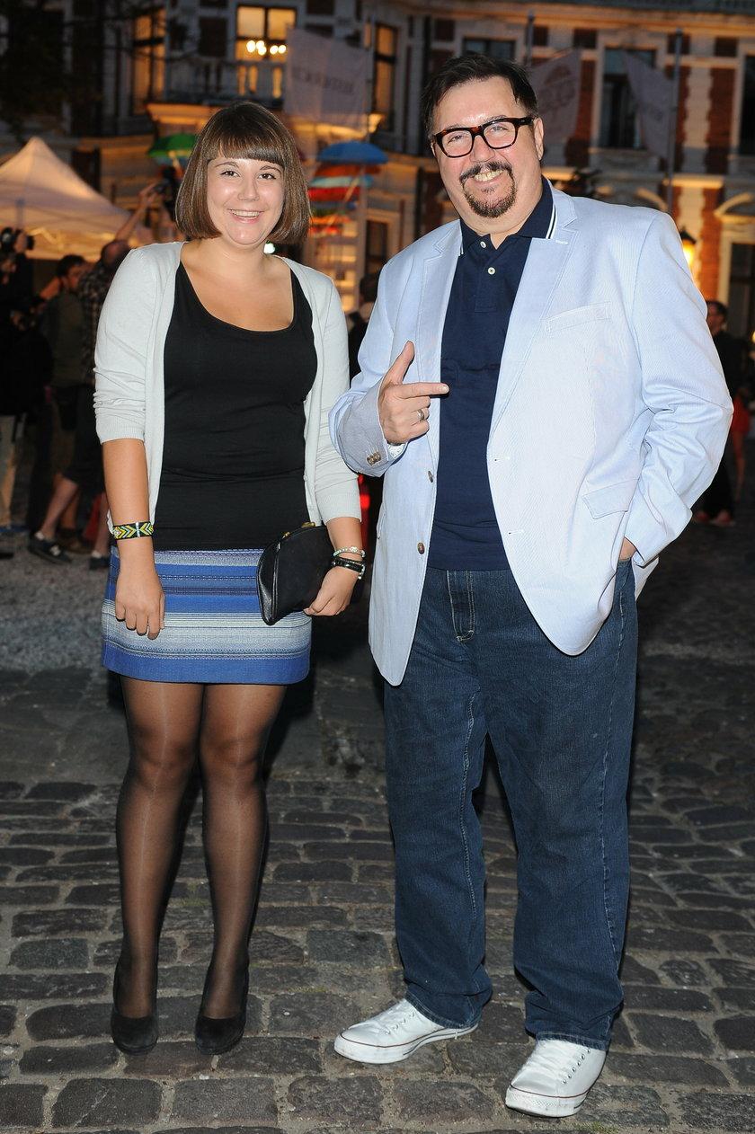 Dariusz Gnatowski z córką Julią
