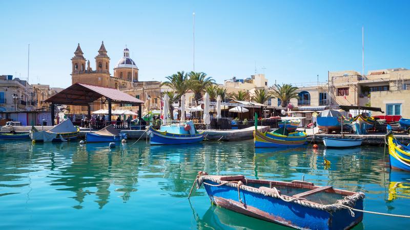 Targ Marsaxlokk, Malta