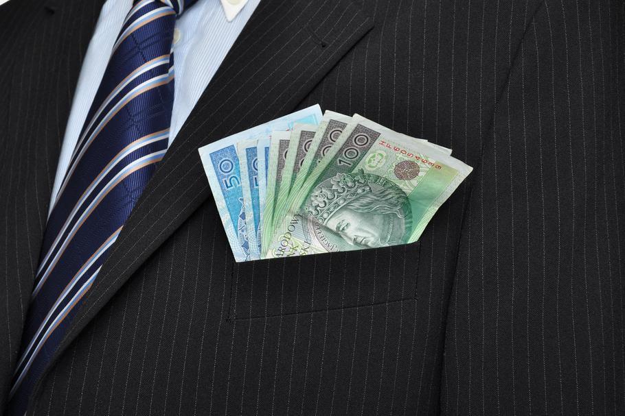 banknoty, pieniądze, biznesmen