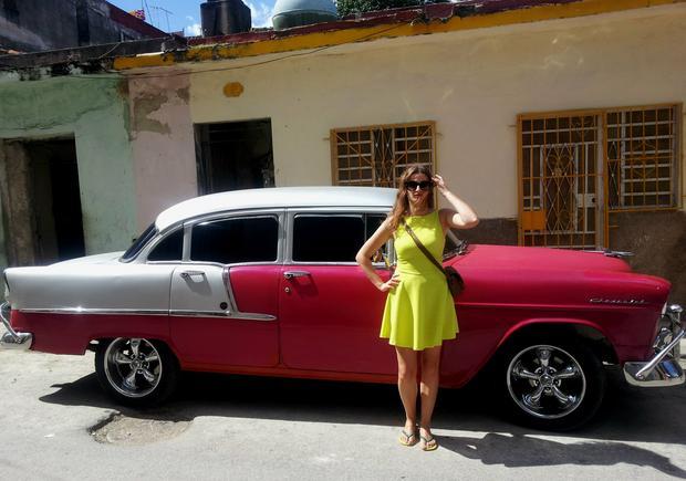 Kamila Kowalewska na Kubie, fot. kamieverywhere.wordpress.com