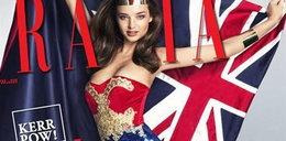 "Miranda ""Wonder Woman"" pręży biust"
