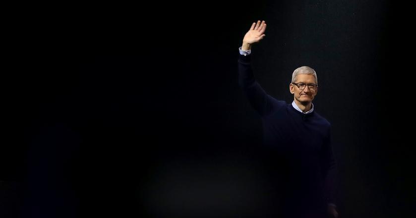 Tim Cook otrzymał niedawno nagrodę za dobre wyniki Apple'a